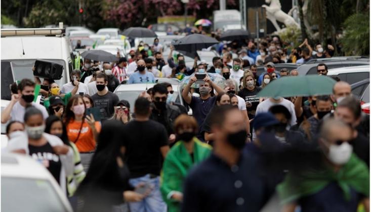 Brezilya'da Salgın Durdurulamıyor