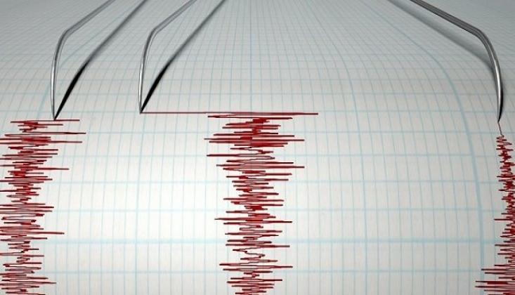 Elazığ Sivrice'de 4.5 Büyüklüğünde Deprem