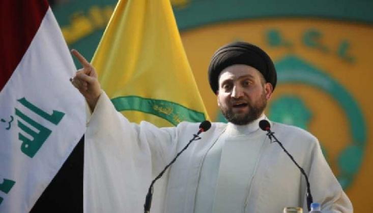 Ammar el-Hekim, Haşdi Şabi'nin Merkezlerine Düzenlenen Saldırılara Tepki Gösterdi