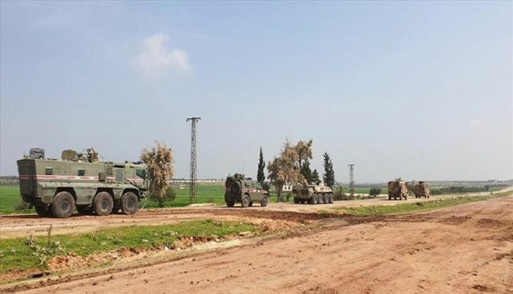 İdlib'deki M4 Karayolunda İlk Türk-Rus Ortak Devriyesi Yapıldı