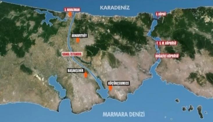 Kanal İstanbul İçin Hazırlanan Çevre Düzeni Planı Yargıya Taşındı