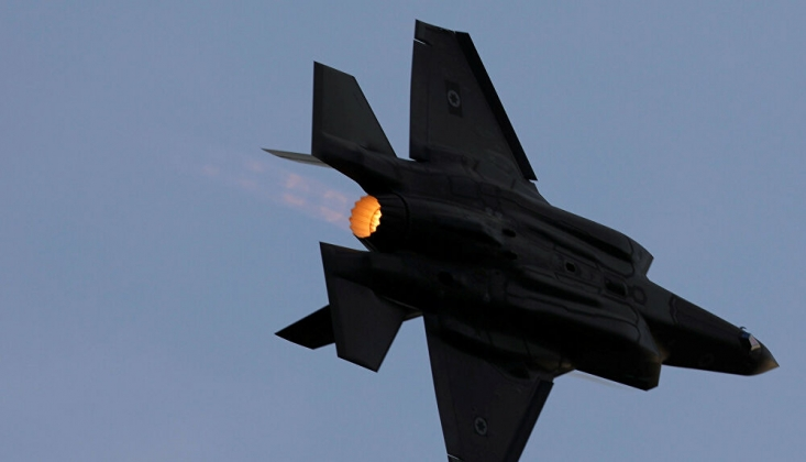 'İsrail, Suriye'de Askeri Hava Üssünü Hedef Aldı'