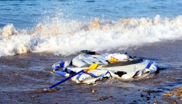 Ege'de Sığınmacıları Taşıyan Bot Battı