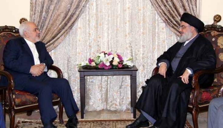 Nasrallah, Zarif'in Yaptırım Listesine Alınmasını Kınadı