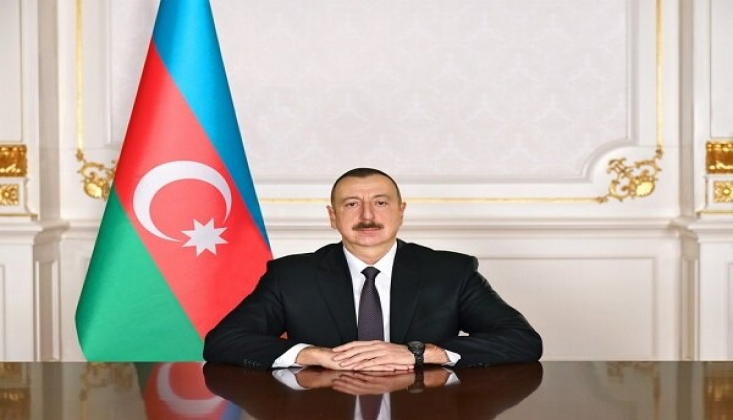 İlham Aliyev'den İran'a Taziye Mesajı