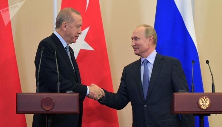 Putin: Erdoğan ile Yakın Temas İçindeyim