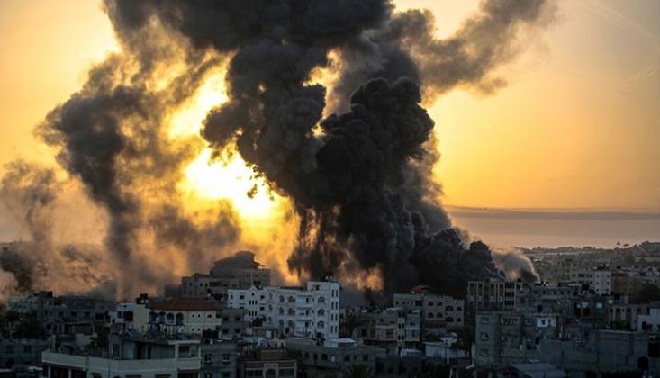 İşgalci İsrail'in Saldırılarından Sonra Gazze'de Durum