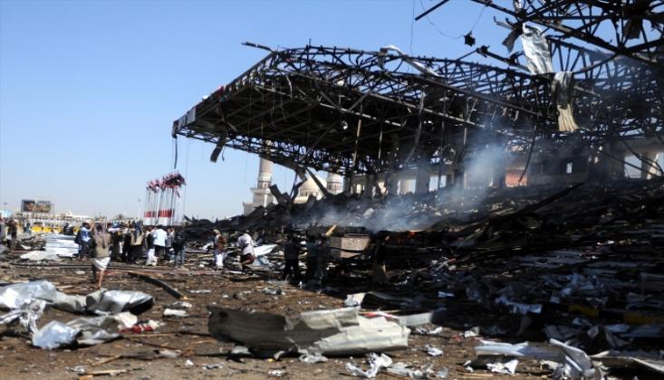 Arabistan'dan Yemen'e Füze Saldırısı