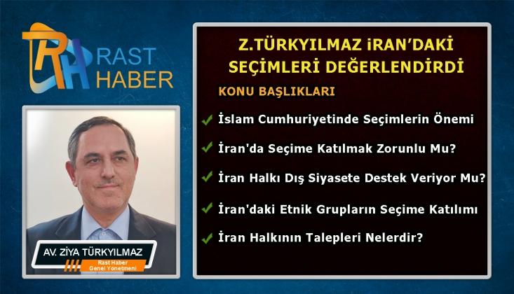 Ziya Türkyılmaz, İran Seçimleri ve Sonuçlarını Değerlendirdi