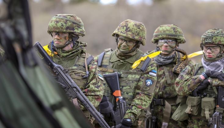 Yüzlerce ABD Askeri Estonya'da