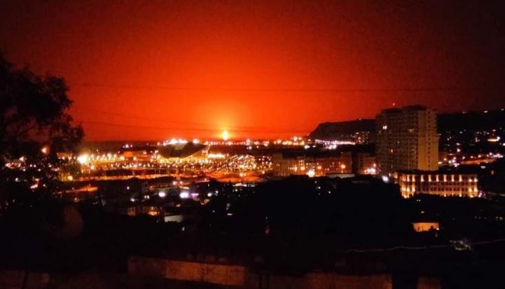 Hazar Denizi'nde Patlama