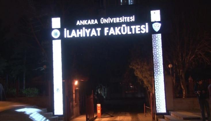 Ankara Üniversitesi İlahiyat Fakültesi'nde Yangın