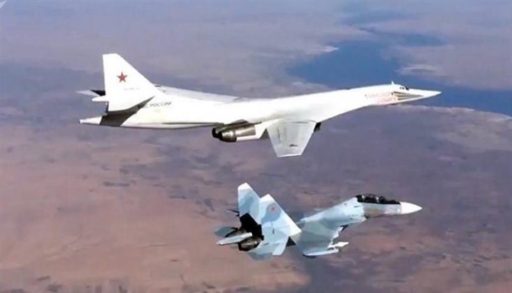 Rus Savaş Uçakları IŞİD'i Bombaladı