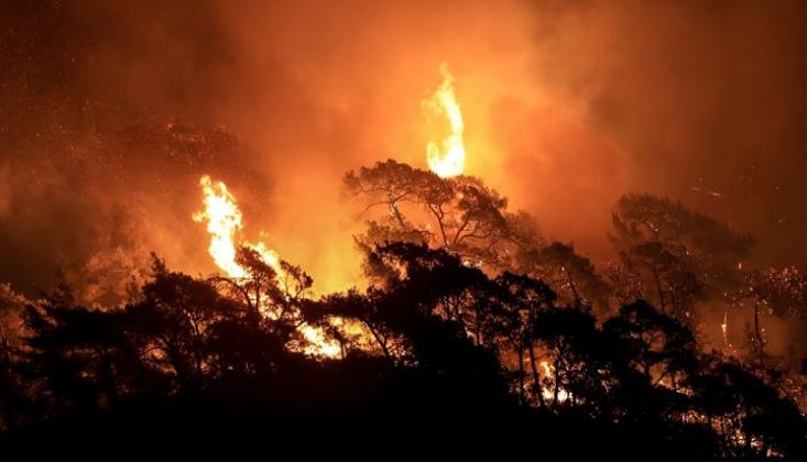 'Yangını Söndürmek İçin Emir Beklediler'