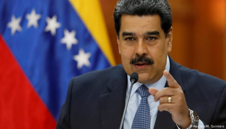 Maduro'dan ABD'ye Yaptırım Tepkisi