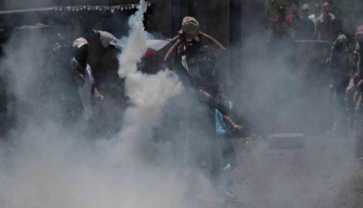 Siyonist Rejim Filistinli Protestoculara Saldırdı