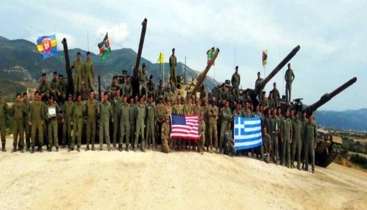 ABD ve Yunanistan'dan Sınırda Tatbikat