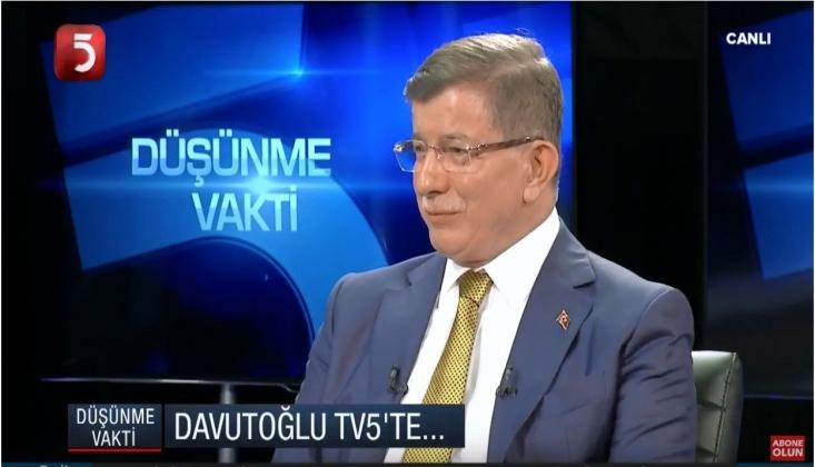 Davutoğlu AKP'yi Bombaladı: Yanlış Sisteme Gittik