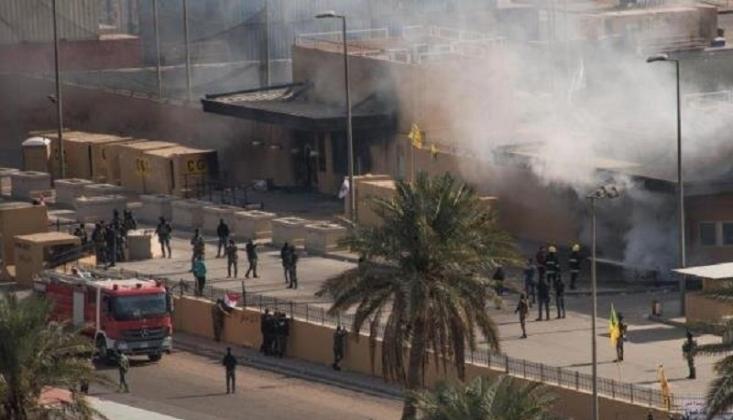 Bağdat'ta ABD Askeri Üssüne Saldırı
