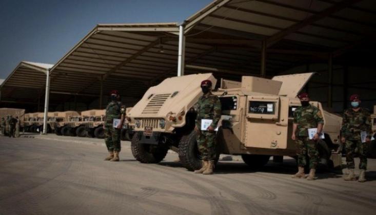 ABD Askeri Lojistik Malzemeleri Peşmergeye Teslim Etti