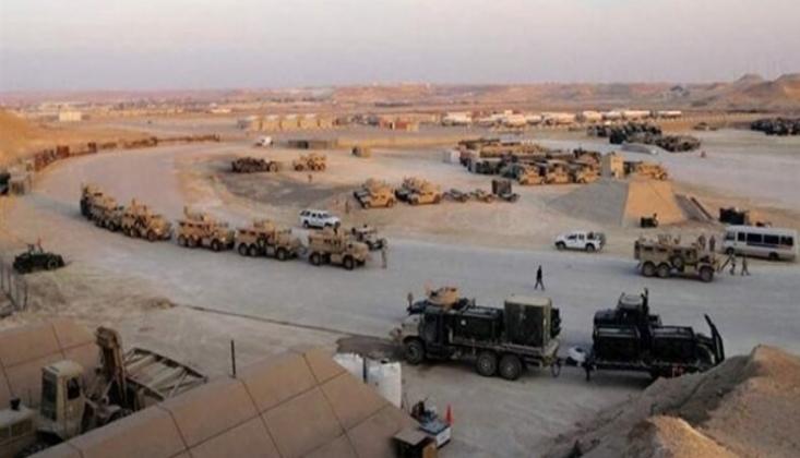 500 Askeri Araç Ayn el-Esed Üssüne Girdi