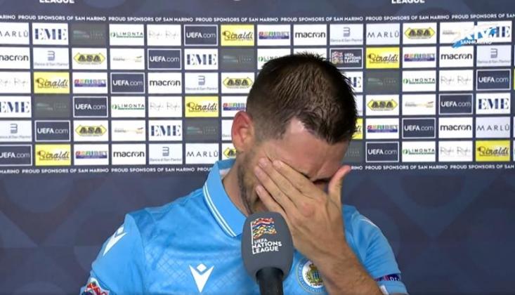 San Marino İki Maç Yenilmeyince Gözyaşlarını Tutamadı