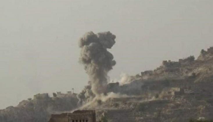 Suudi Rejim Yerleşim Alanlarını Bombaladı