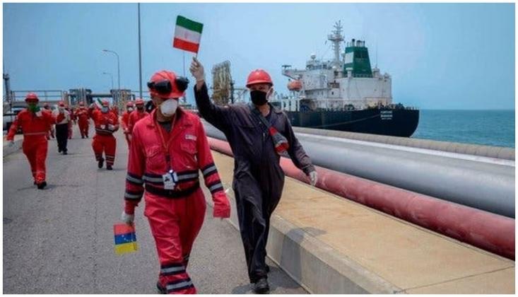 İran'ın Son Tankeri de Venezuela'ya Ulaştı