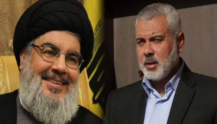 Haniye'den Hasan Nasrallah'a Mektup