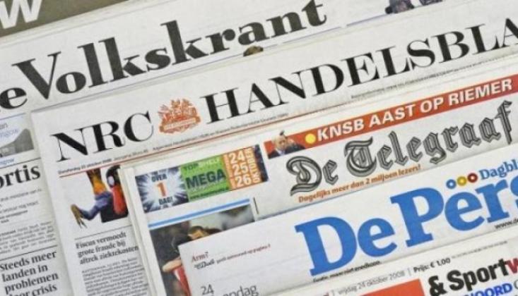 Hollanda Medyasından Türkiye Karalaması