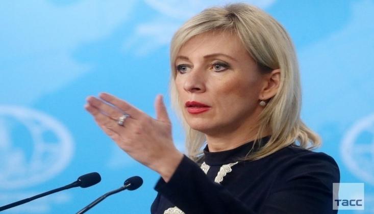 Zaharova: ABD'ye Tepkimiz Her Zaman Olduğu Gibi Sert Olacak