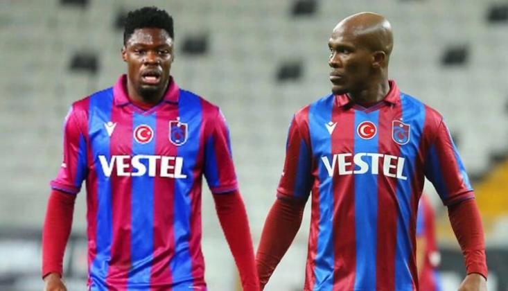 Trabzonspor'da Nwakaeme ve Ekuban Şoku!