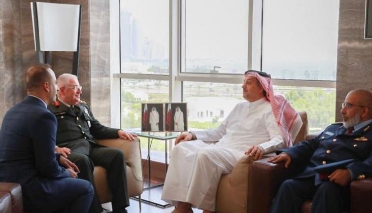 Genelkurmay Başkanı, Katar Savunma Bakanı'yla Görüştü
