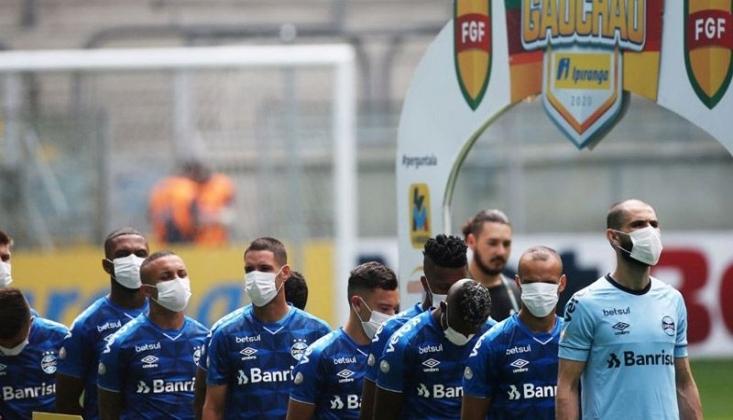 Brezilya'da Futbolculardan Maskeli Protesto!