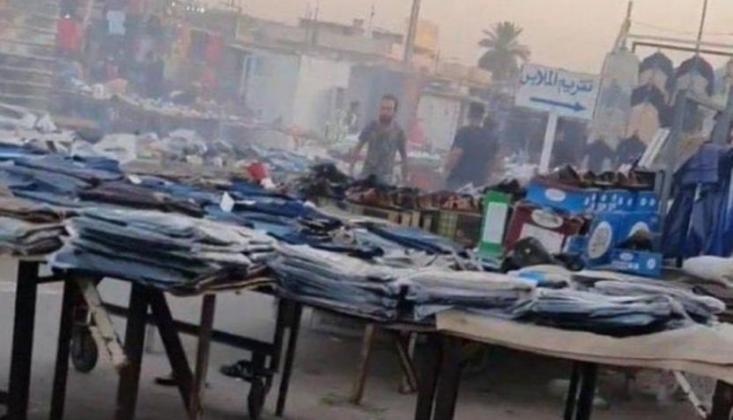 Bağdat'ta Halk Pazarında Patlama