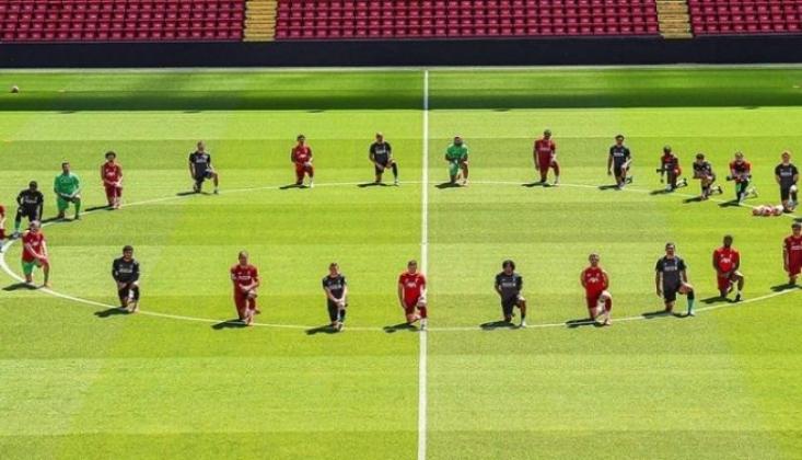 Liverpoollu Futbolcular George Floyd İçin Diz Çöktü