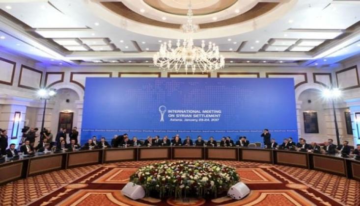 Suriye Konulu Astana Toplantısı Aralık'ta