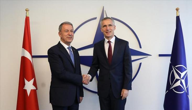 Akar, NATO Genel Sekreteri İle Görüştü