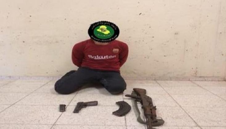 Irak'ta Bir IŞİD Teröristi Yakalandı