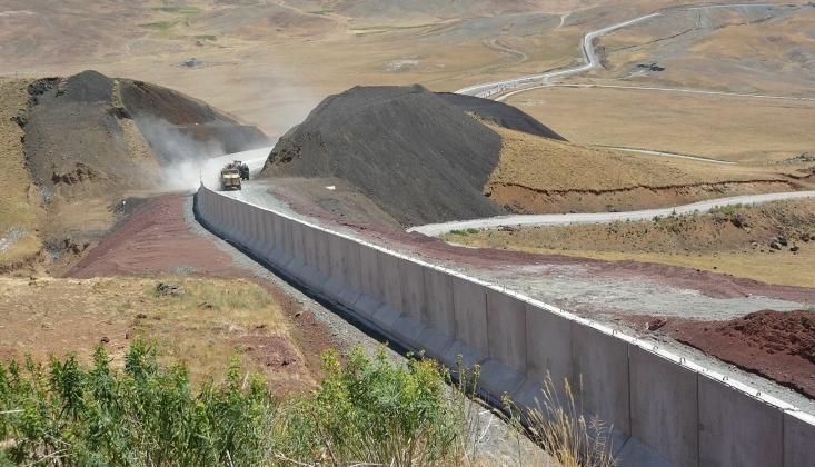 İran Sınırı Beton Duvarla Örüldü