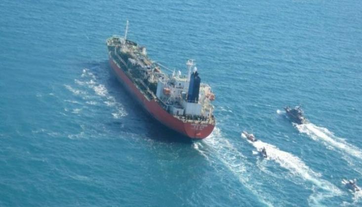 İran'ın 3. Petrol Gemisi Lübnan'a Doğru Yola Çıktı