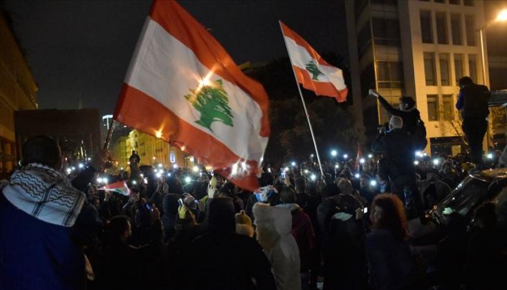 Lübnan'da ABD Karşıtı Protestolar
