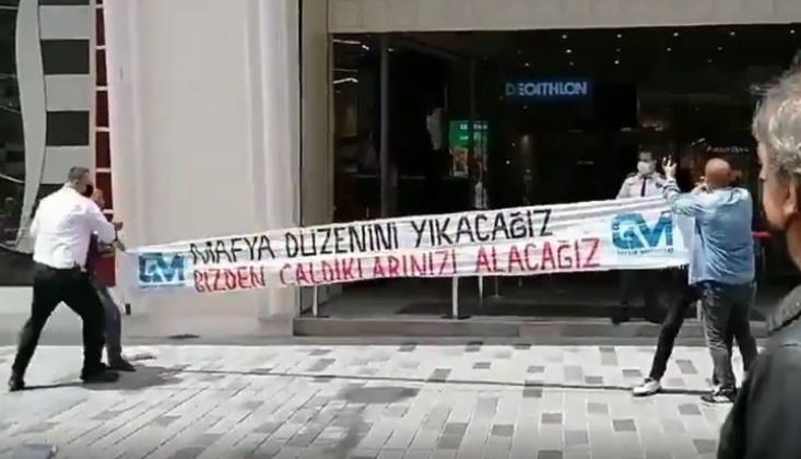 Taksim'de Eylem; 'Mafya Düzeninizi Yıkacağız'