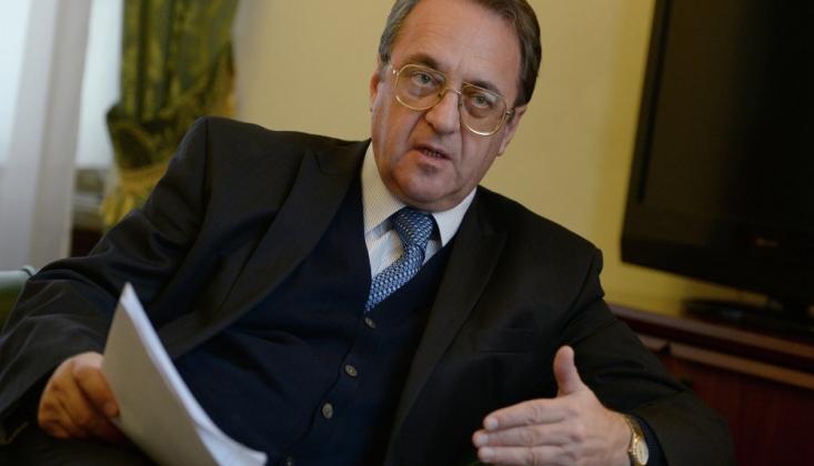 Bogdanov'dan Türk Heyeti İle İlgili Açıklama