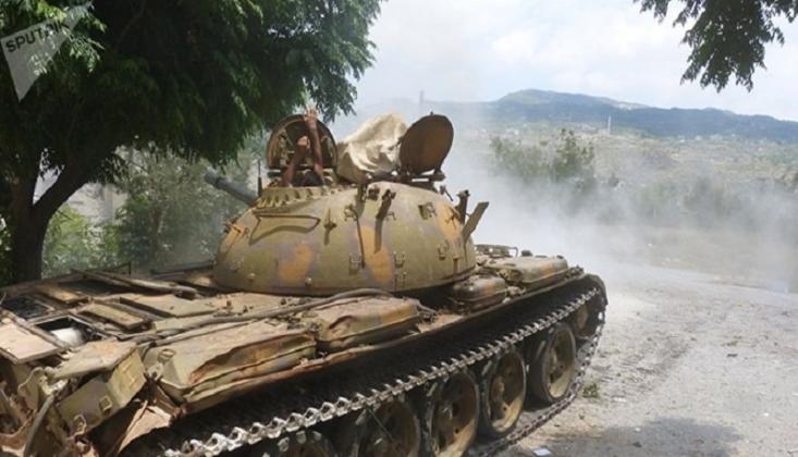 Suriye Ordusu İdlib'in Güney Cephesine Ağır Teçhizat Gönderdi