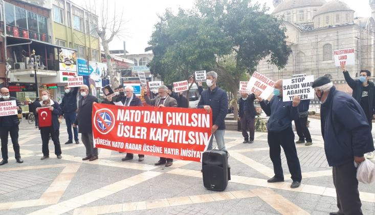 Malatya'da NATO Üslerine Hayır Sesleri Yükseldi / FOTO