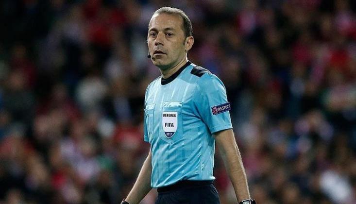 Çakır, Dortmund-Sevilla Maçını Yönetecek