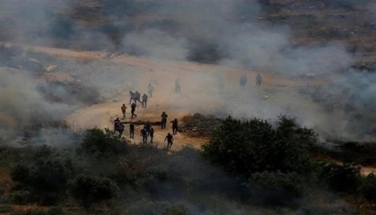 İşgal Güçleri ile Çıkan Çatışmada 117 Filistinli Yaralandı
