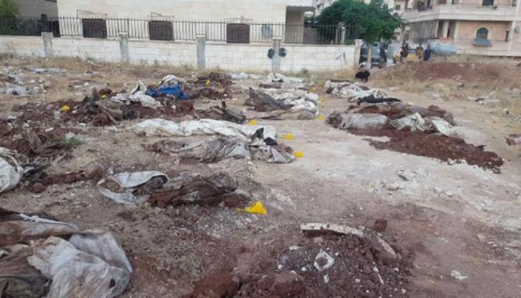 Afrin'de Bulunan Toplu Mezarda Sayı 61'e Yükseldi