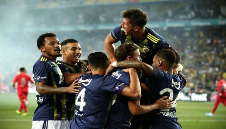 Fenerbahçe Lige Fırtına Gibi Giriş Yaptı